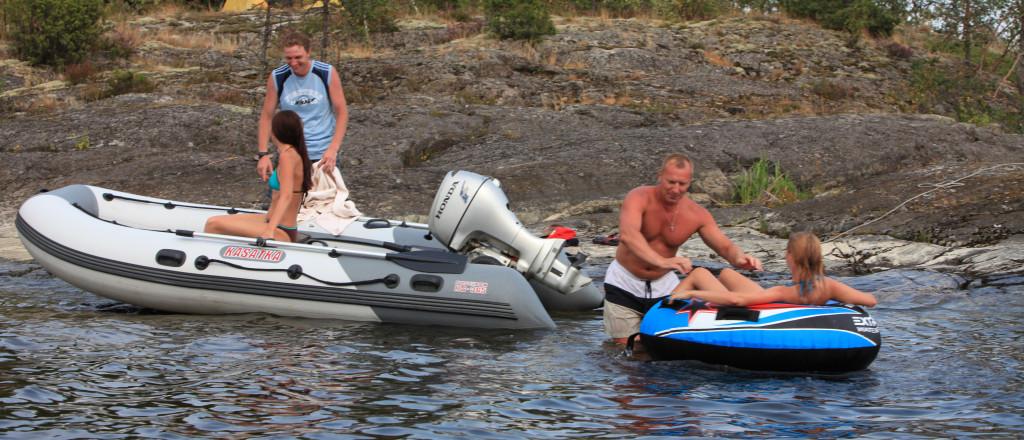 тюнинг лодки пвх в посейдоне