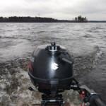 Тест-драйв лодочного мотора ПЛМ Suzuki DF2,5