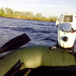 Тест-драйв: двухтактный подвесной лодочный мотор «Парус 3.5».