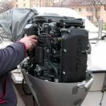 О консервации 2-тактных лодочных моторов