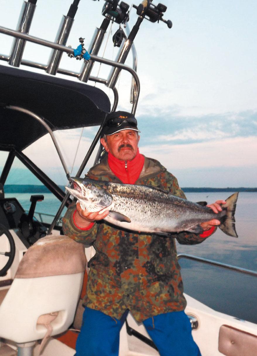 Общие особенности ловли лосося