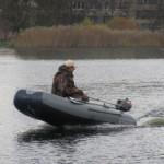 Тест-драйв небольших лодок с навесными транцами под мотором