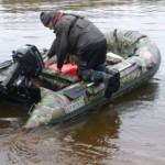 Выбор ПВХ лодки с жёстким транцем