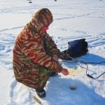 Ловля окуня на Ладоге на мормышку