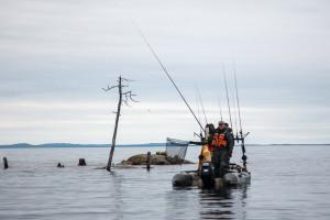 ловля сига и хариуса на северных водоемах