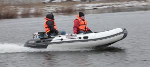 испытания надувной лодки серии Касатка