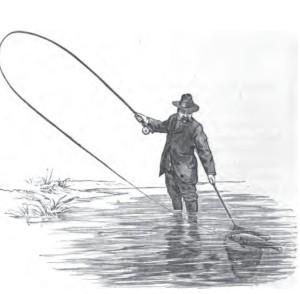 Сама по себе ловля рыбы с подобной снастью существовала уже за тысячи лет до Бернерс