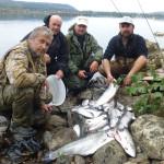 Ловля на озерах Швеции. Местечко Сторуман
