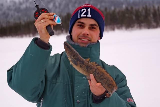 Ловля налима зимой на джиг головку