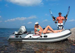 новая серия лодок - «Касатка»