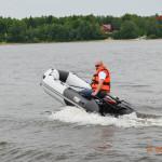 Глиссирование надувных моторных лодок