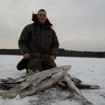 Январская ловля щуки