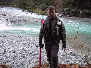 ловля форели в горах Кавказа