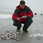 Ловля корюшки на финском заливе