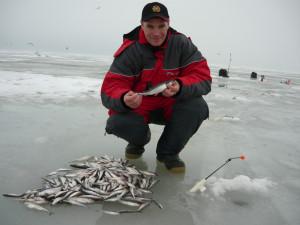 Ловля корюшки в финском заливе