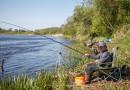 Весенняя рыбалка на фидер