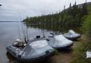 Носовой тент на лодках из ПВХ