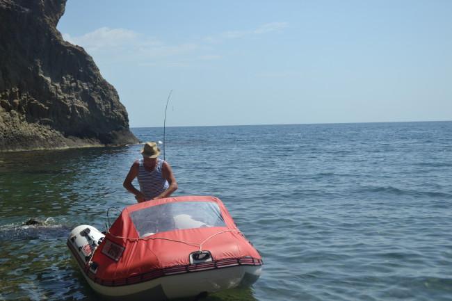 лодка Альтаир. Крым