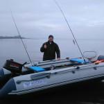 О подготовке небольшой лодки для ловли троллингом