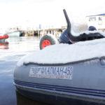 Лодка ПВХ для морской рыбалки